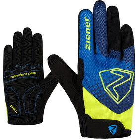 Ziener Colja Long Bike Gloves Kids, persian blue